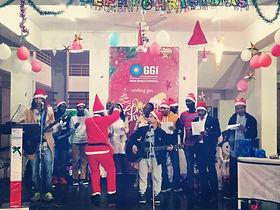 Edoofians taking part in Christmas celebrations