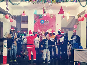 Edoofians taking part in Christmas celebrations