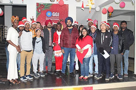College owner spends time with edoofians on Christmas