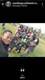 Happy edoofians enjoying campus life
