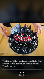 Star Edoofian Linda shares on social media what her Indian friends did for her on her birthday