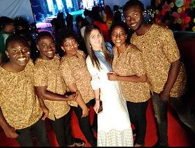Edoofians with their faculty enjoying the cultural fest