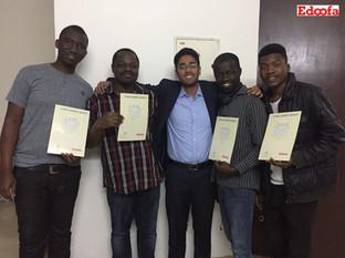 Happy Edoofians winning Scholarship credits