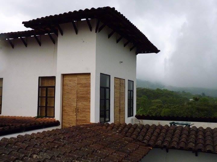 Terraza y residencia