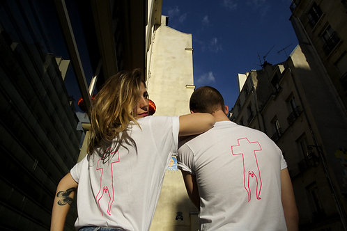 Tee-shirt (white) | design by Carlo Amen