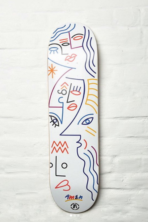 Skateboard | design by Carlo Amen for Agony