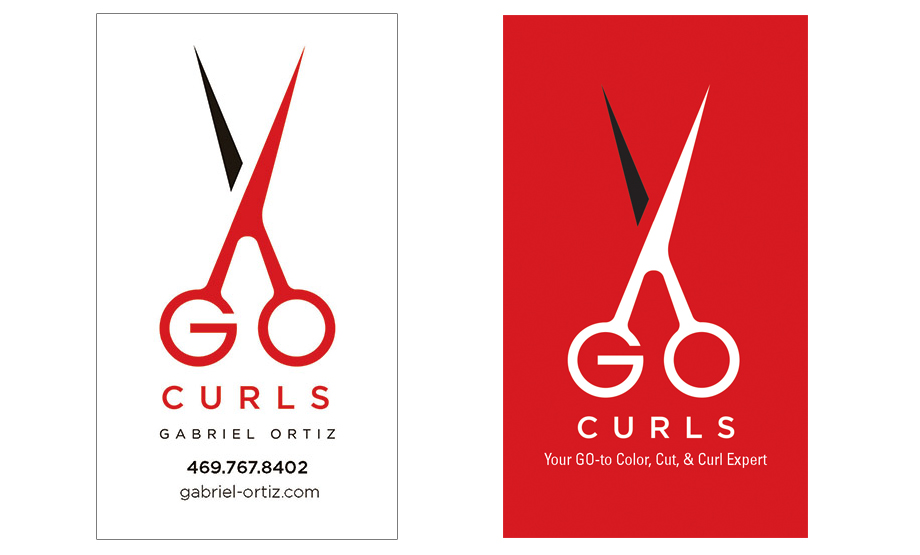 GoCurls Buisness Card