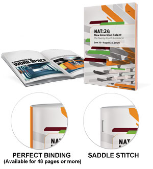 Booklet -Saddle Stich & Perfect Bind