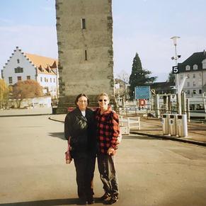Gen and Ulsula Jacquet in Lindau, Switzerland