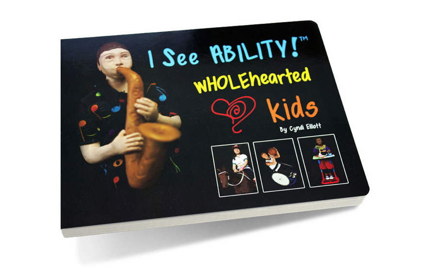 """I See Ability"" Board Book Design"