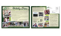 8x10 EDDM Holiday Drive Postcard