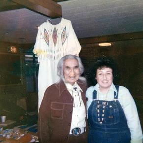 Gen with Chief Dan George