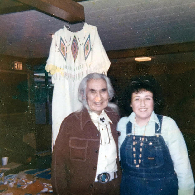 Gen with Chief Dan George