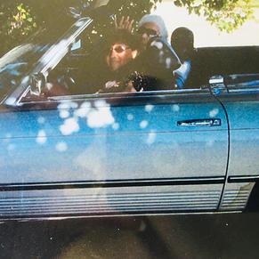 Gen and her Mother Celine in a Mercedes Benz