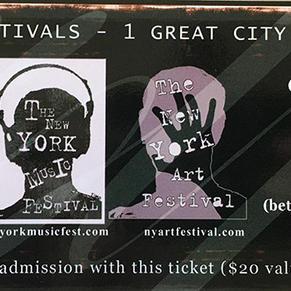 New York Concert Ticket