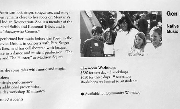 Class Description in COMPAS Arts in Education Handbook