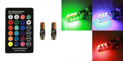 FOCO 158  18 LED CON CONTROL RGB