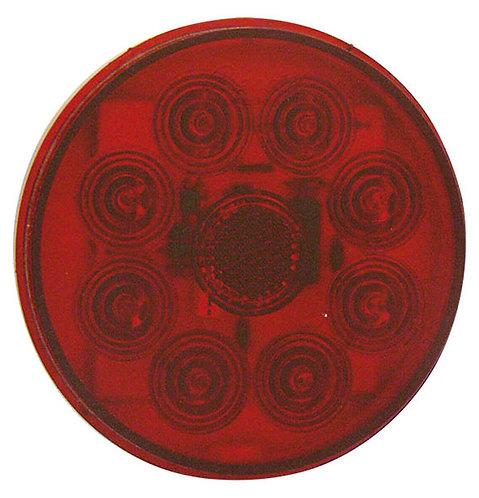 "PLAFON EMB. 4"" ( REPUESTO P208 ) 8 LEDS C/MOV. ROJO"