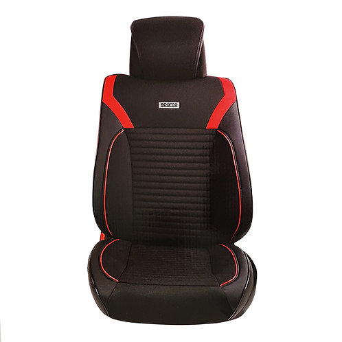 CUBREASIENTO SPARCO INDIVIDUAL 3D NEGRO