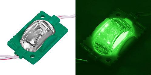 (10 PZAS) MODULO DE 3 LED VERDE