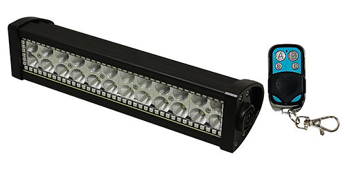 BARRA DE ALTA INTENSIDAD 24 LEDS 72W 34.4cm MULTICOLOR