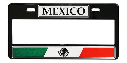 MARCO PLACA NUMERICO MEXICO