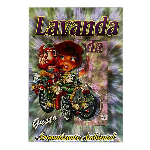 (10 PZS) AROMATIZANTE PLACA LAVANDA