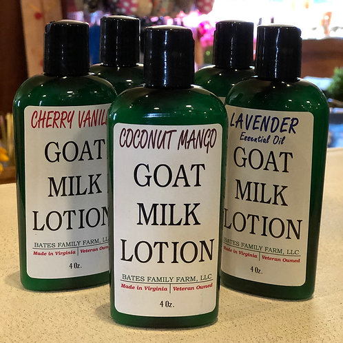 Goat Milk Lotion 8 oz (Coconut Mango)