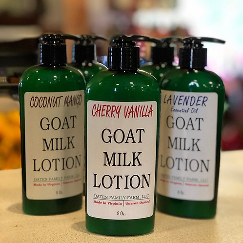 Goat Milk Lotion 8 oz (Cherry Vanilla)