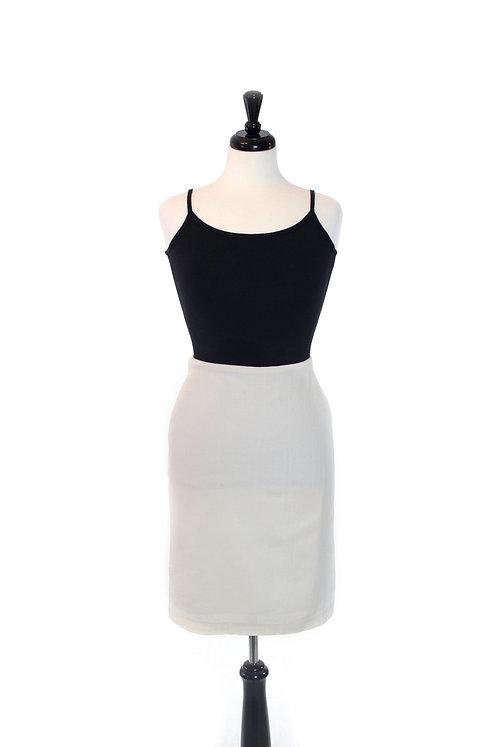 leno straight skirt