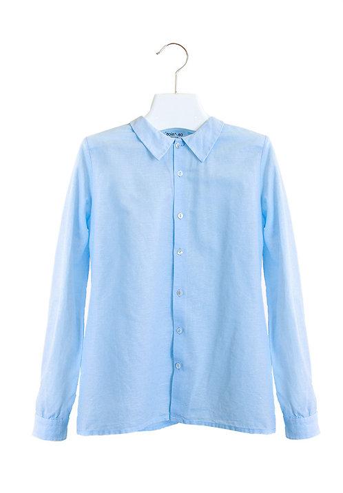 organic cotton/linen shirt