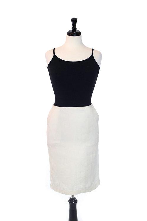 hemp straight skirt