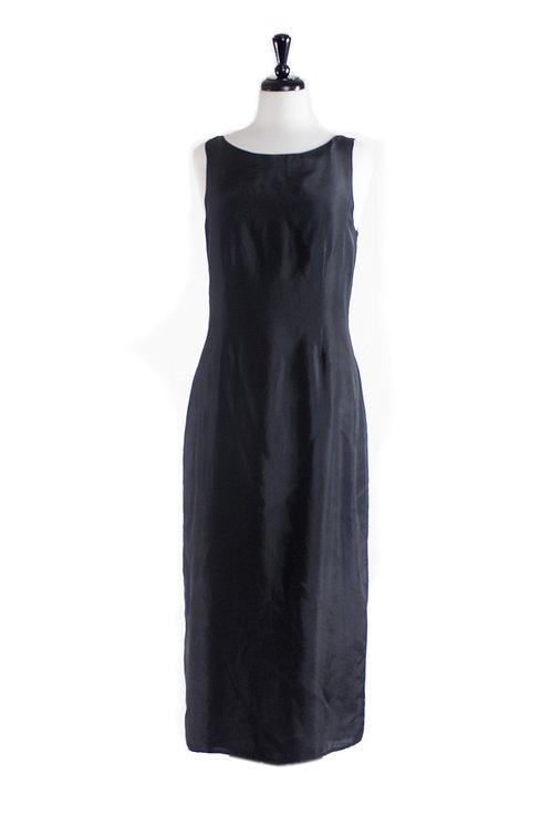 peace silk long dress