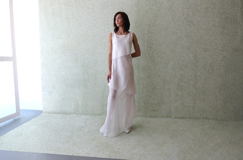 Diagonal Gown