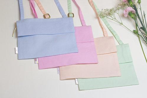 pastel envelope purse