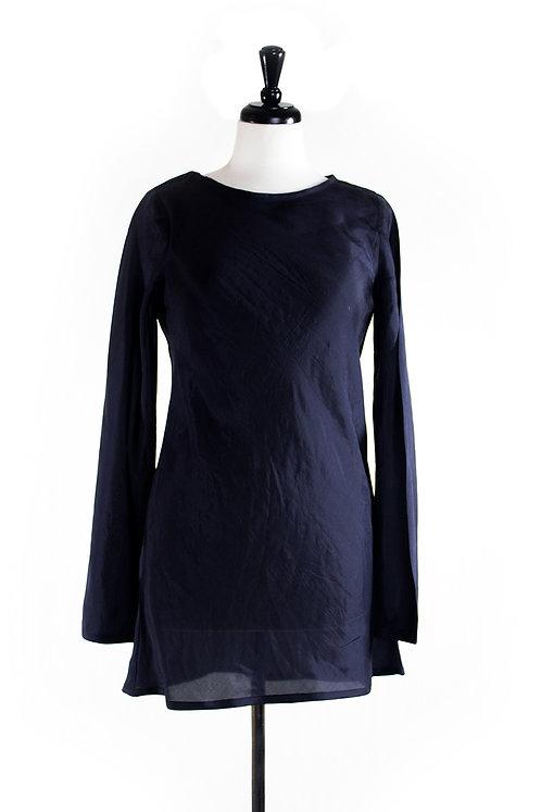 longsleeve silk tunic