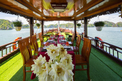 Sun Deck and Dinning Place