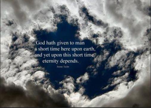 Eternity matters