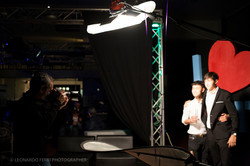 backstage shooting © Leonardo Ferri