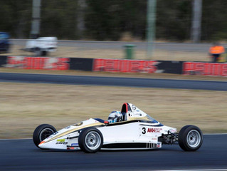 Hamish hammers to maiden Formula Ford win