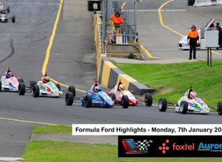Australian Formula Ford Highlights on Aurora Channel