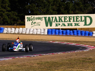 MCELREA WINS CHAOTIC RACE 3 TO COMPLETE WAKEFIELD PARK CLEAN SWEEP