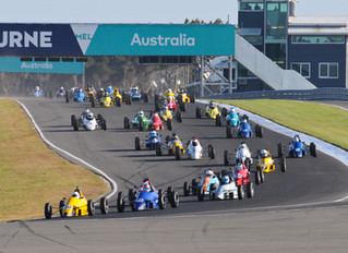 Massive field set for Formula Ford celebrations at Phillip Island