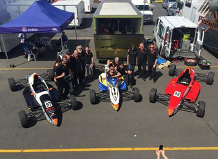 2014 Australian Formula Ford Road To Indy Series winner - Thomas Randle