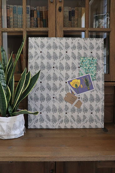 Pinecone Fabric Notice Board