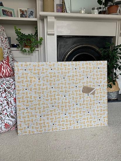 Hay Achillea Ground Fabric Notice Board