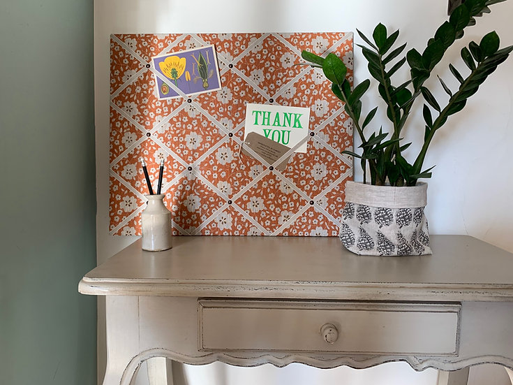 Madder & Conker Olive's Room Fabric Notice Board