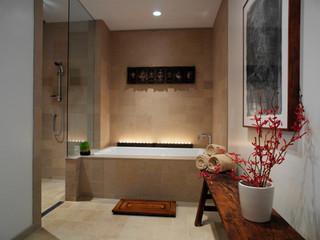 Zen Inspired Master Baths
