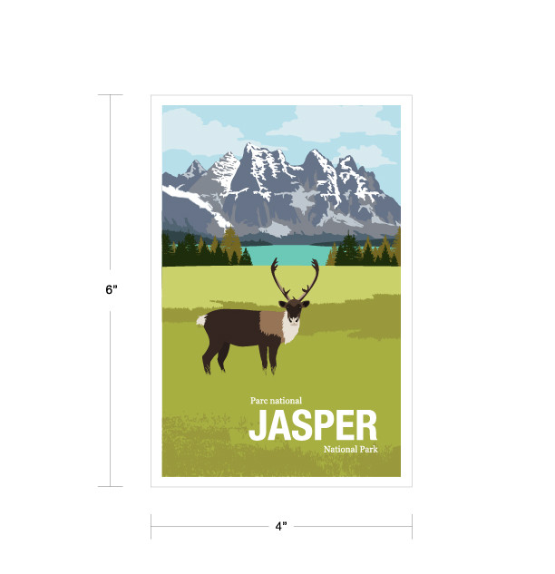 Parks Canada Vintage Series-Jasper National Park