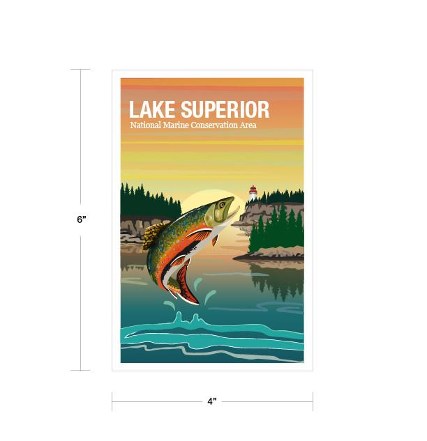 Parks Canada Vintage Series-Lake Superior National Marine Conservation Area